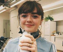 """Maisie Williams świętuje zakończenie """"Gry o Tron"""" nowym imagem. Korzystna zmiana?"""