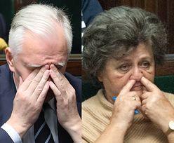 Dłubanie w nosie, przysypianie... Tak posłowie PiS pracowali w Sejmie (FOTO)
