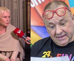 """Ewa Błaszczyk o rezygnacji Owsiaka: """"Odpocznie, ochłonie i wróci"""""""