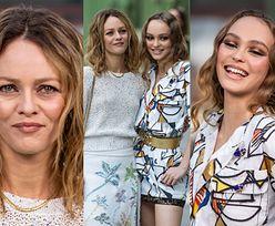 Zadowolone Lily-Rose Depp i Vanessa Paradis wypełniają obowiązki ambasadorek Chanel