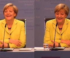 """Dziennikarz śpiewa """"Happy birthday"""" kanclerz Merkel!"""