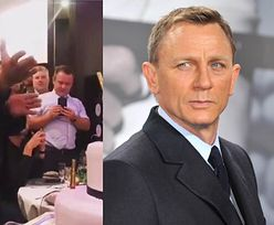 Pijany Daniel Craig żegna się z rolą Jamesa Bonda
