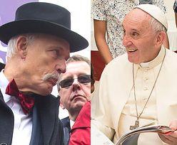 """Korwin-Mikke o papieżu Franciszku: """"To wcielenie Lucyfera. Ten wzrok! Ciarki przechodzą"""""""