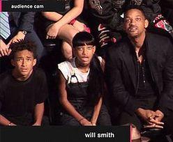 Will Smith z rodziną ZASZOKOWANI występem Lady Gagi!