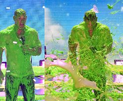John Cena podczas prowadzenia gali dla dzieci ZOSTAŁ OBLANY zieloną farbą