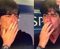 Trener Niemiec znów to zrobił… Tym razem wąchał pachę