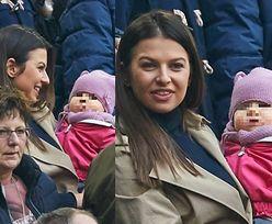 Lewandowska z Klarą kibicują Robertowi na meczu (ZDJĘCIA)