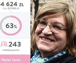 Anna Grodzka walczy z chorobą kręgosłupa! Zorganizowano publiczną zbiórkę pieniędzy na operację