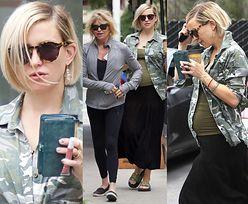Ciężarna Kate Hudson relaksuje się na zakupach z mamą