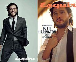 "Kit Harington pozuje dla ""Esquire"""