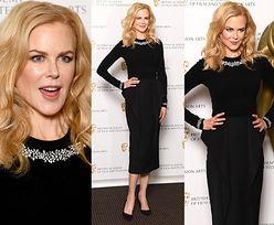 Nicole Kidman chwali się szczupłą figurą w bardzo obcisłym komplecie