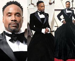 """Oscary 2019: Billy Porter z serialu """"Pose"""" przyszedł na galę w... SUKNI. Piękna?"""