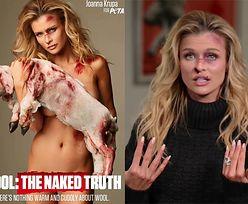 """Joanna Krupa znów się rozebrała dla PETA! """"Nie miałam pojęcia, że ludzie są TAK OKRUTNI"""""""