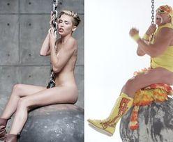 Hulk Hogan jak Miley Cyrus!