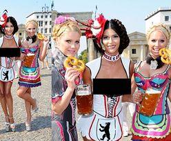 """Niemiecka """"Top Model"""" na Oktoberfest..."""