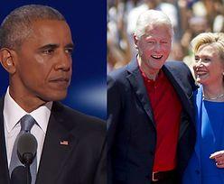 """""""Nikt nie jest lepiej przygotowany do prezydentury niż Hillary Clinton. Ani ja, ani Bill Clinton!"""""""