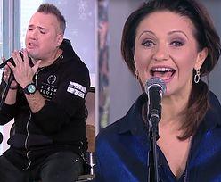 """Szymon Wydra śpiewa z playbacku w """"Dzień Dobry TVN""""..."""
