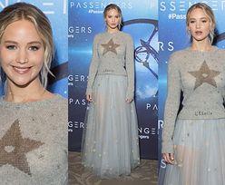 Jennifer Lawrence promuje film w tiulowej spódnicy