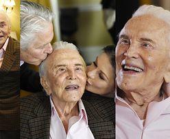 Tak Kirk Douglas świętował setne urodziny w Beverly Hills! (ZDJĘCIA)