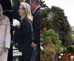 Meryl Streep, Gwyneth Paltrow i Meg Ryan na pogrzebie Carrie Fisher i Debbie Reynolds (WIDEO)