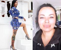 """Nowy biznes dziewczyny Artura Szpilki. """"Zaprojektowała"""" sukienki we wzór węża. Ładne? (FOTO)"""