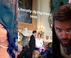 Gwiazdy zrelacjonowały w social mediach ślub i wesele księżniczki Eugenii MIMO KRÓLEWSKIEGO ZAKAZU (FOTO)