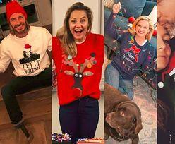 Jakie swetry świąteczne wybierają gwiazdy?