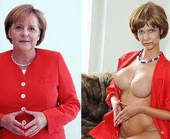 """Uczestniczka niemieckiego """"Top model"""" jako... naga Angela Merkel!"""