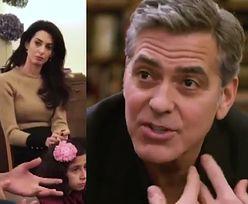 """Clooney i Amal odwiedzili imigrantów w Berlinie. """"Sto lat temu w USA to my byliśmy uchodźcami. Jesteśmy krajem imigrantów!"""""""