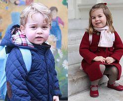 Książę Jerzy i księżniczka Charlotte NIE MOGĄ JEŚĆ POSIŁKÓW razem z rodzicami!