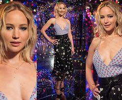 Jennifer Lawrence znów pozuje bez stanika