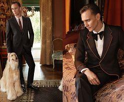 Tom Hiddleston w kampanii Gucci