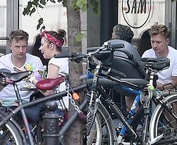 Wesołowski na obiedzie z żoną i córką (WIDEO)