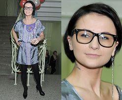 Wiśniewska w okularach (JAK ONA SIĘ UBRAŁA...?)