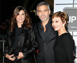 Clooney, matka i kochanka...