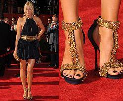 Szarapowa w złotych butach... (PIĘKNA?)