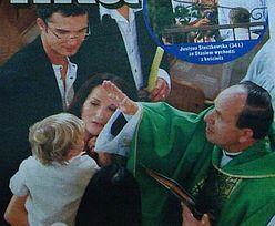 Steczkowska ochrzciła syna