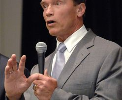 """Schwarzenegger: """"Mam dziecko z pomocą domową!"""""""