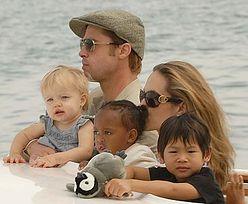 Angelina chce się pogodzić z mamą Brada
