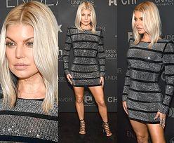 Fergie odsłania nogi w sukience za 9 tysięcy