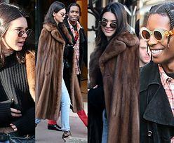 Kendall Jenner i ASAP Rocky na spacerze w Paryżu (ZDJĘCIA)