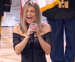 Fergie ZMASAKROWAŁA hymn Stanów Zjednoczonych na meczu NBA