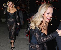 """""""Zawiana"""" Rita Ora wraca z afterparty po Grammy"""