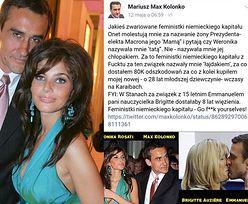 """Mariusz Max Kolonko o 64-letniej żonie prezydenta Francji: """"W Stanach za związek z 15 letnim Emmanuelem nauczycielka dostałaby 8 lat więzienia"""""""