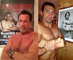 Kliczko vs. Schwarzenegger... (FOTO)