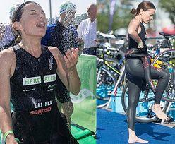 Glinka wystartowała w triathlonie! (ZDJĘCIA)