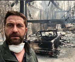 """Gerard Butler pokazał swój DOSZCZĘTNIE SPALONY DOM. """"Bolesny czas"""" (FOTO)"""