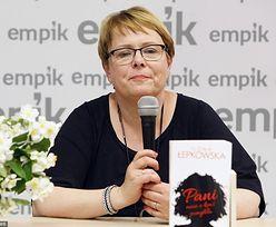 """Łepkowska o molestowaniu: """"Mnie bardziej upokorzyłaby zdrada męża niż komplement, że mam ładne cy*ki"""""""