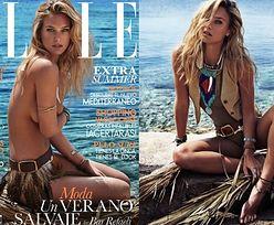 """Bar Refaeli reklamuje kostiumy w hiszpańskim """"Elle""""!"""