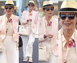 #TRENDY: Catherine Zeta-Jones w różowej marynarce